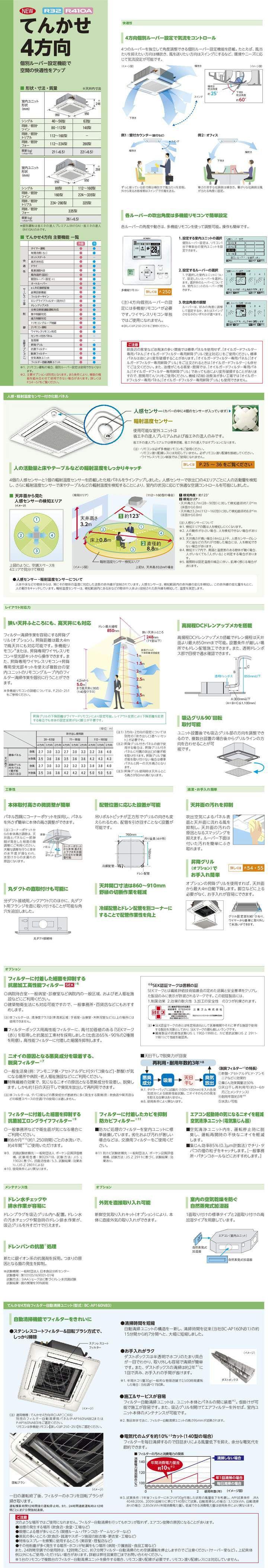 RCI-AP280SHW5-kobetsuカタログ
