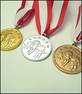 子ども用メダル
