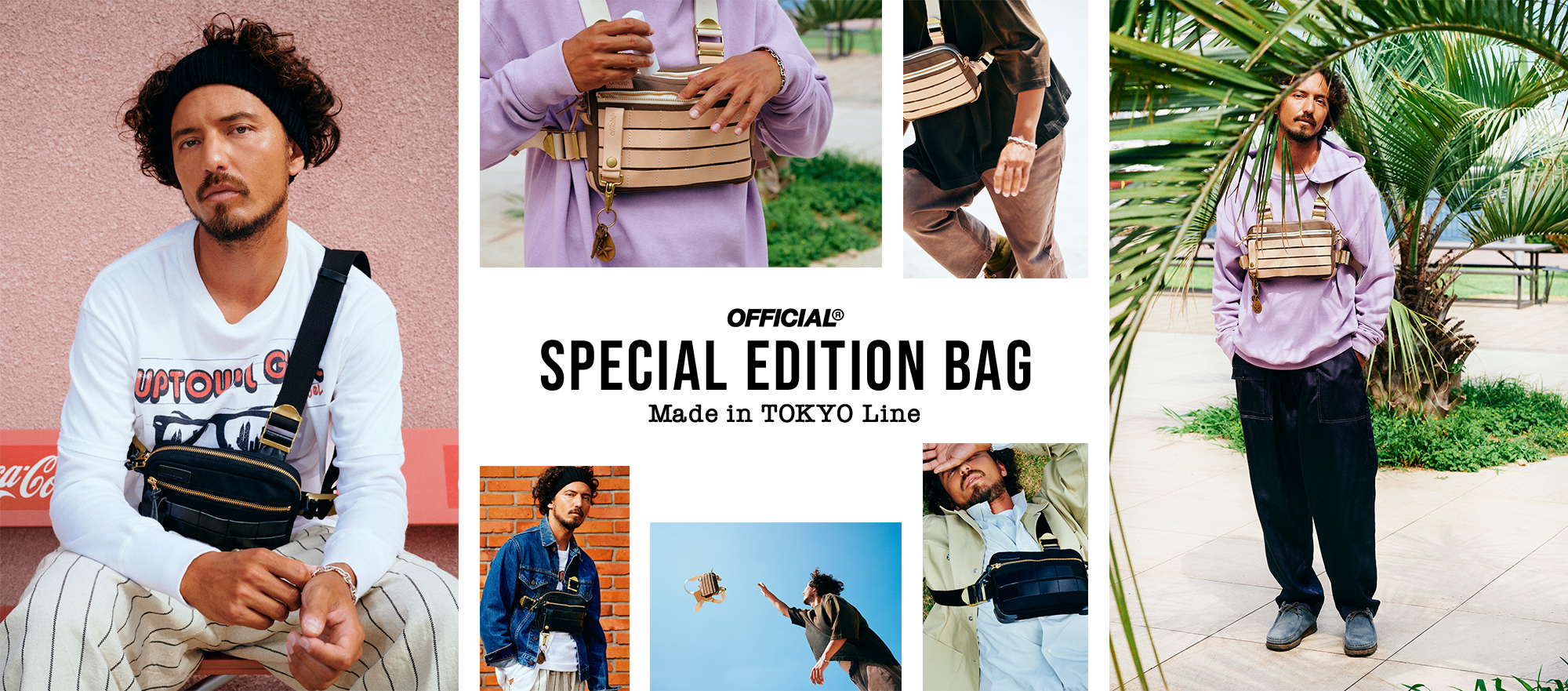 OFFICIAL Made in TOKYO SPECIAL EDITION CHEST BAG