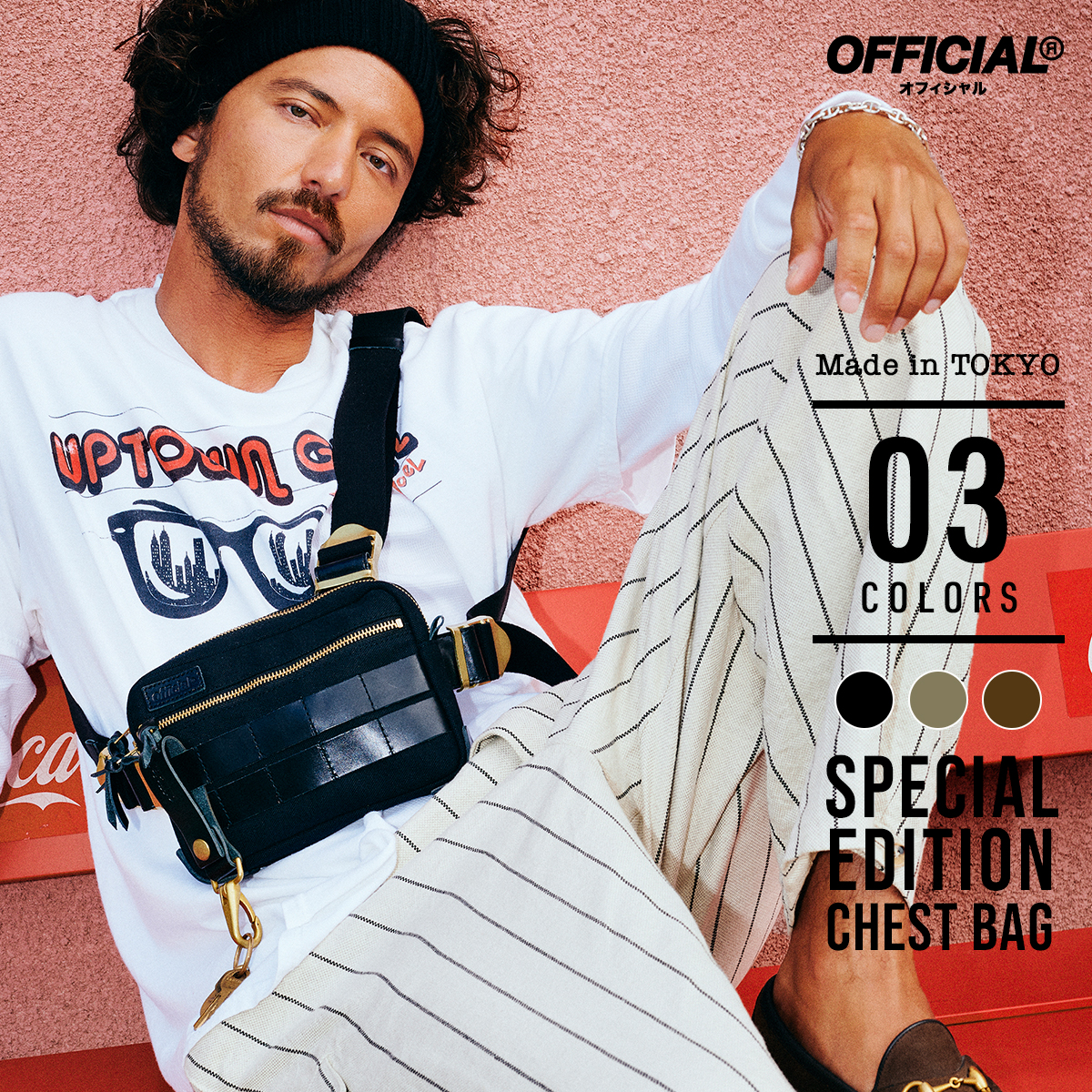 【Sサイズ】OFFICIAL Made in TOKYO SPECIAL EDITION CHEST BAG
