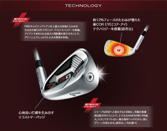 PING G410 IRON TECHNOLOGY