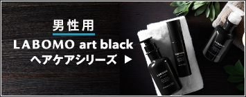 【男性用】LABOMO art black ヘアケアシリーズ