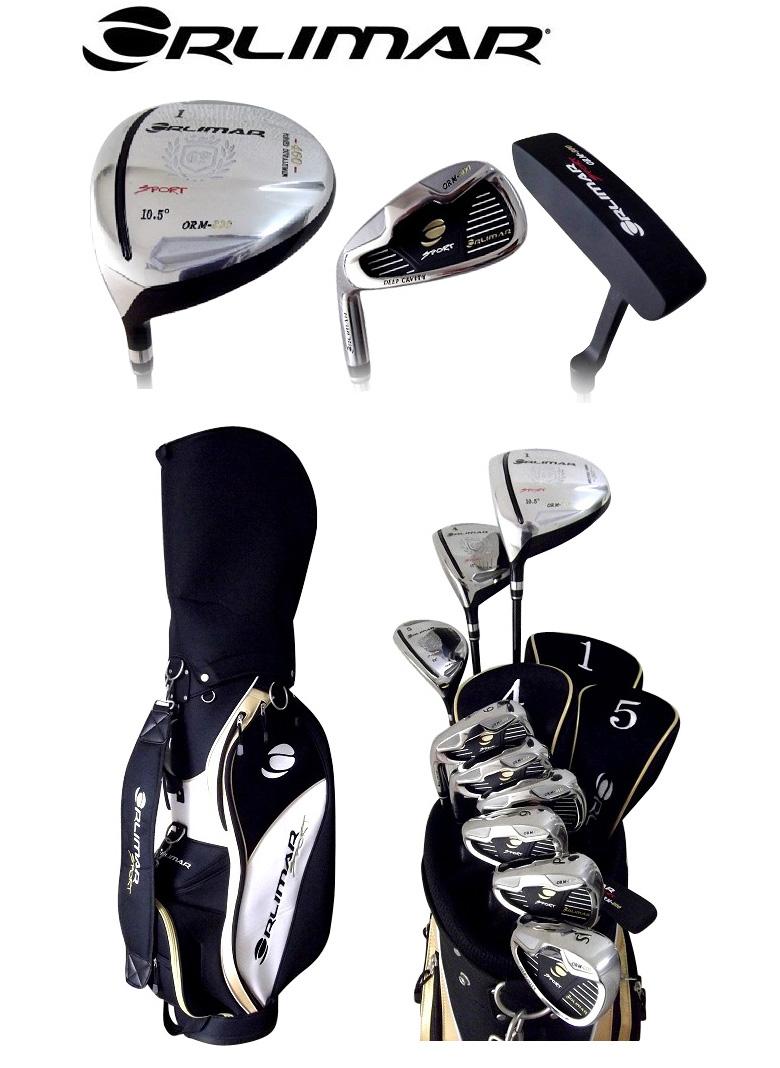 「レフティー」 オリマー ゴルフ ORM800 クラブセット 10本組 (1W,4W,U5,#6-PW,SW,PT) スチールシャフト キャディバッグ付                                                                                                                             2013年モデル U5 PT) スチールシャフト キャディバッグ付 :a301073t-0226:アトミックゴルフ #6-PW