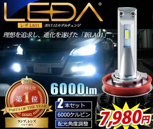 LEDヘッドライト・フォグランプ最安値に挑戦
