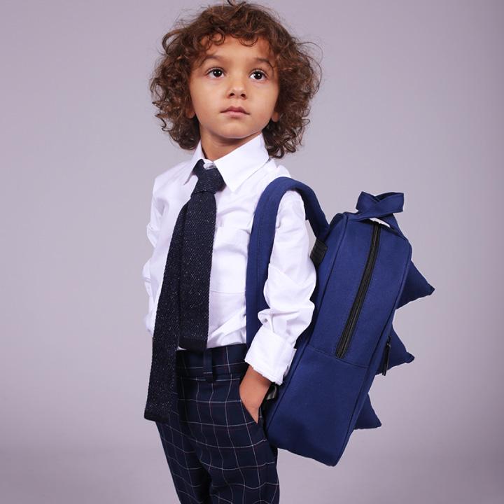 7A.M. ENFANT(セブンエイエムアンファン) MINI DINO COTTON コットン キッズバッグNYのクールなおしゃれバッグ