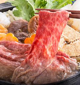 神戸牛 モモすき焼き