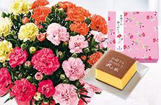 お花とお菓子セット
