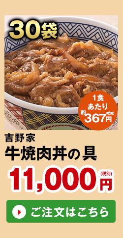 吉野家 牛焼肉丼の具 30袋