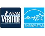 各種認証を取得省エネの国際基準であるEnergy Starを取得。米国家電製品協会(AHAM)にてCADR(クリーンエア供給率)を獲得。