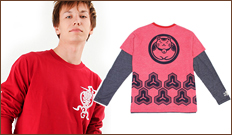 豊天商店 長袖Tシャツ