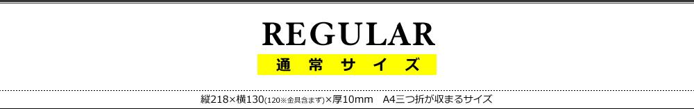 レギュラーサイズ