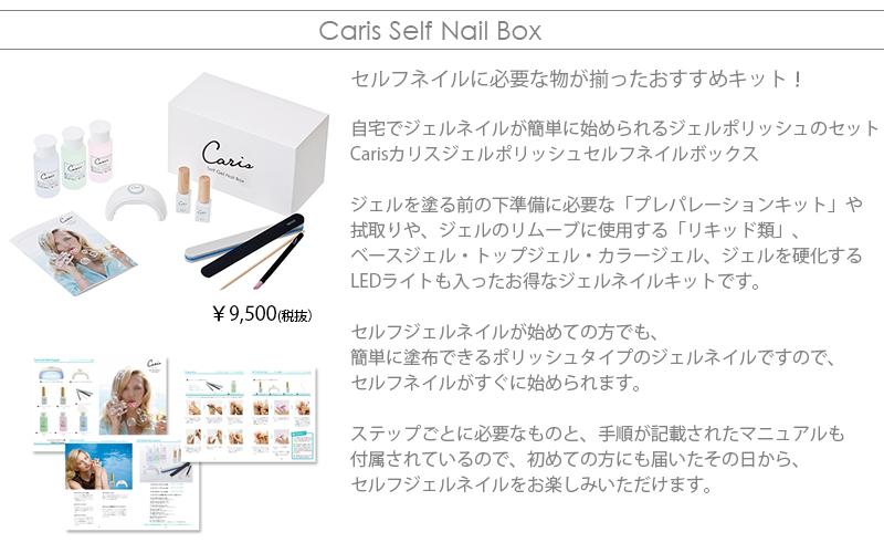 Carisセルフネイルボックス