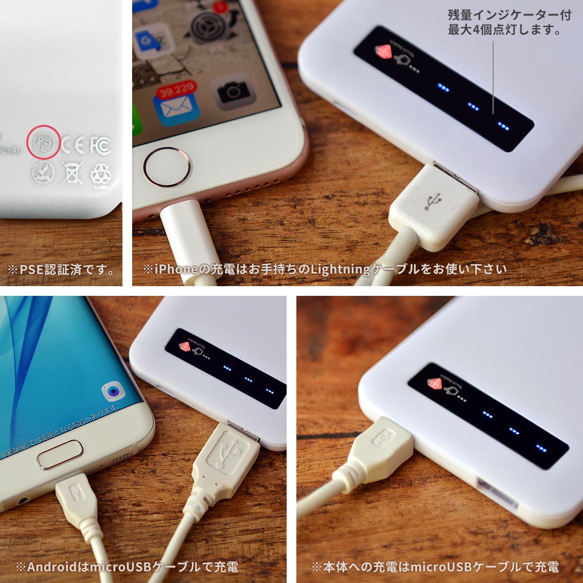 モバイルバッテリーの使用方法