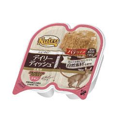 デイリーディッシュ™ 成猫用 チキン グルメ仕立てのパテタイプ トレイ