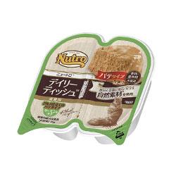 デイリーディッシュ™ 成猫用 サーモン&ツナ グルメ仕立てのパテタイプ トレイ