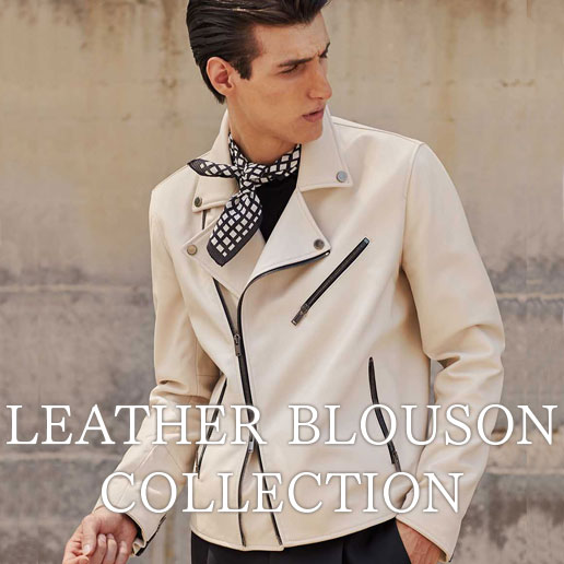 LEATHER BLOUSON COLLECTION