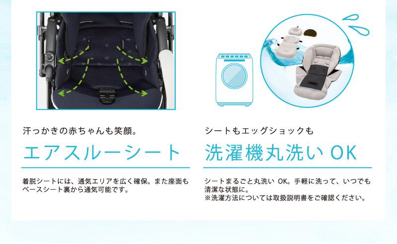 エアスルーシート 洗濯機丸洗いOK