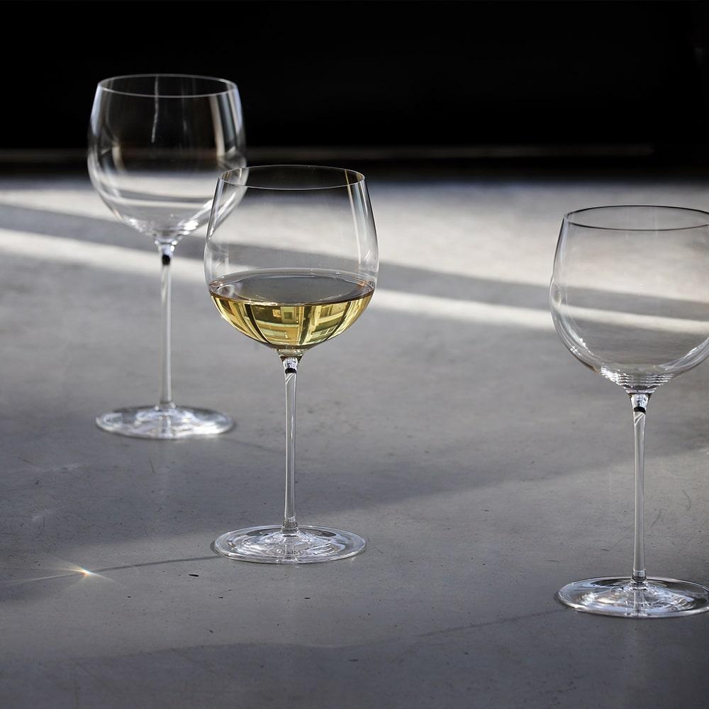 木村硝子店 サヴァ 14oz WH 430ml ワイングラス(10612-1)非常に薄く、足の細い繊細なハンドメイドグラス プレゼント