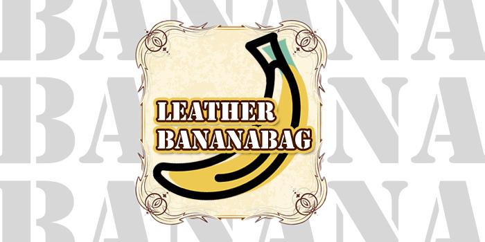 レザー ボディ バッグ バナナ ショルダー LEATHER BODY BAG BANANA