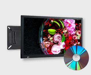 24v型液晶テレビ壁掛け金具+工事セット