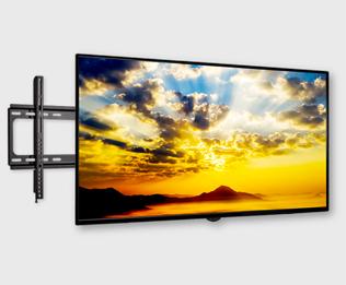 55v型液晶テレビ壁掛け金具+工事セット