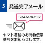 発送完了メール