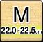 Mサイズ(22.0-22.5cm)