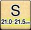 Sサイズ(21.0-21.5cm)