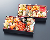 北海道函館「花びし」監修 和洋二段重 絢珠