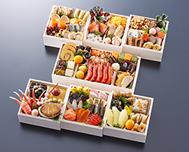 京都御所南  京料理「やまの」監修 七箱与段重 一陽来復
