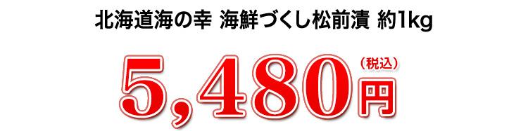 5,480円(税込)