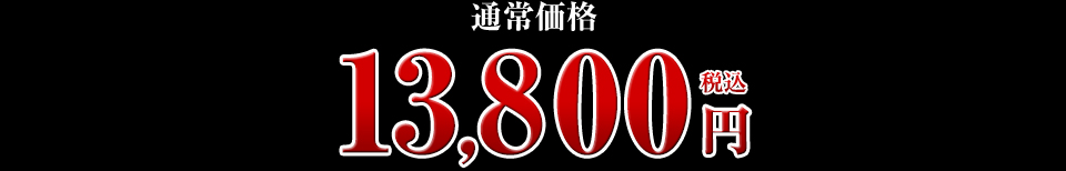 13,800円