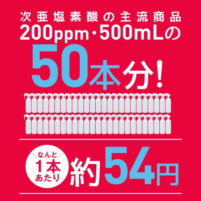 200ppm・500mLの46本分