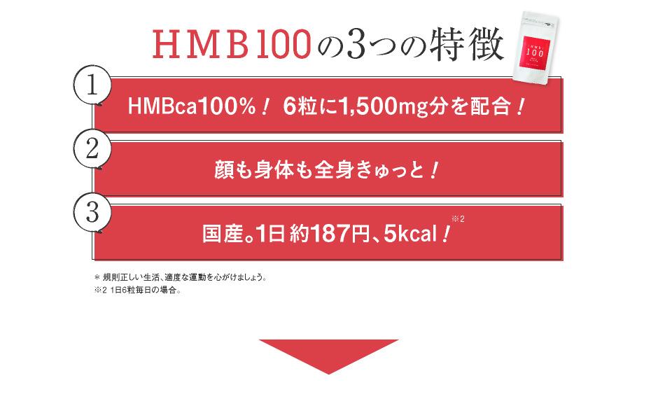 HMB100の3つの特徴