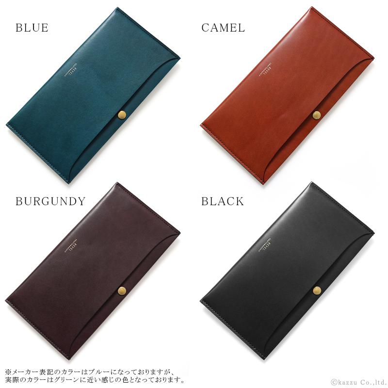REVEL REGULAR 薄い長財布 メンズ カードケース 本革 国産レザー 日本製