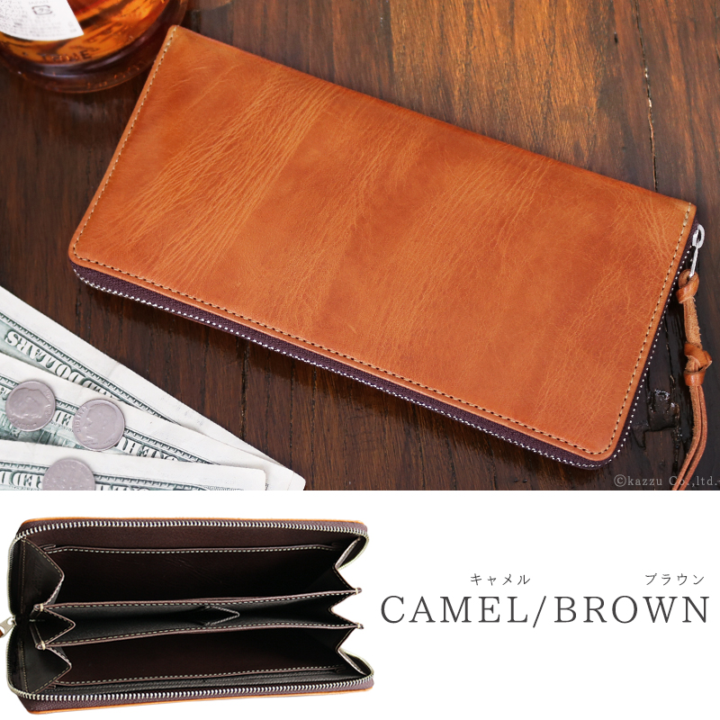 人気ブランドのメンズ財布「バッカス」×「イタリアンレザー」の本革財布