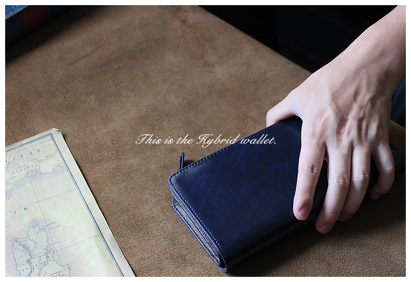 セパレートでハイブリッド財布