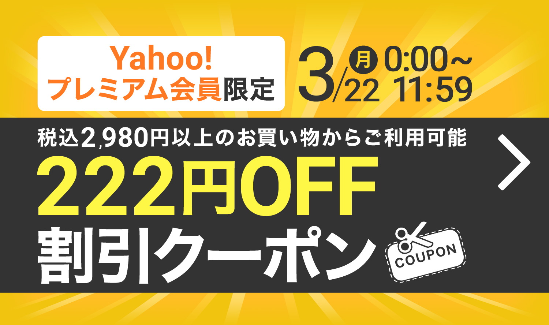 222円OFFクーポン