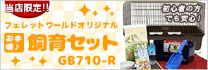 お手頃♪飼育セット GB710-R