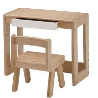 子ども用の机と椅子がセットになったキッズスタディーセット。お子様の成長に合わせて、デスク天板は高さ調節可能です。小さなお子様に、初めての自分だけのデスクにいかがでしょうか。送料無料 スタディーセット ナチュラル シンプル キッズデスク キッズチェア 子供部屋 リビング学習 子供椅子 子供机 机 デスク 椅子 チェア