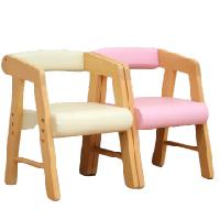 座面を3cm幅で2段階に高さ調節できる、かわいいひじ付きキッズチェアです。座面が汚れてもすぐに拭けば簡単に落ちるのでお手入れがし易く、お子様ものびのびと使用できます。送料無料 キッズチェア ナチュラル シンプル PVC お手入れし易い 子供椅子 肘付き椅子 子供チェア