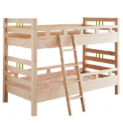 送料無料 親子 ベッド 二段ベッド 子ども こども 子供 部屋 木製 国産 日本製 大川家具 大川 安心 ヒノキ 檜 無垢材