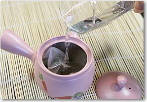 水出し緑茶(冷茶)の作り方