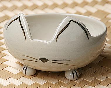 猫さんのごちそう茶碗