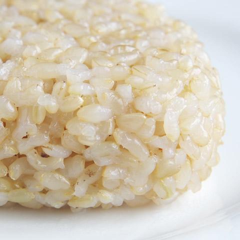 「つるっ」として「プリッ」とした食感が玄米の良さ!