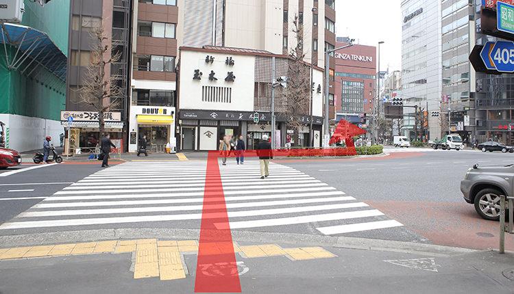 都営浅草線新橋から道順6