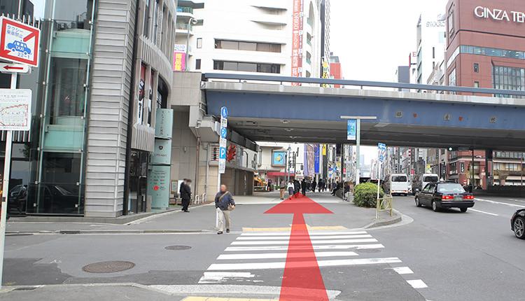 都営浅草線新橋から道順7