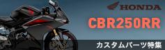 CBR250RRカスタムパーツ特集