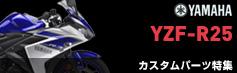 YZF-R25カスタムパーツ特集