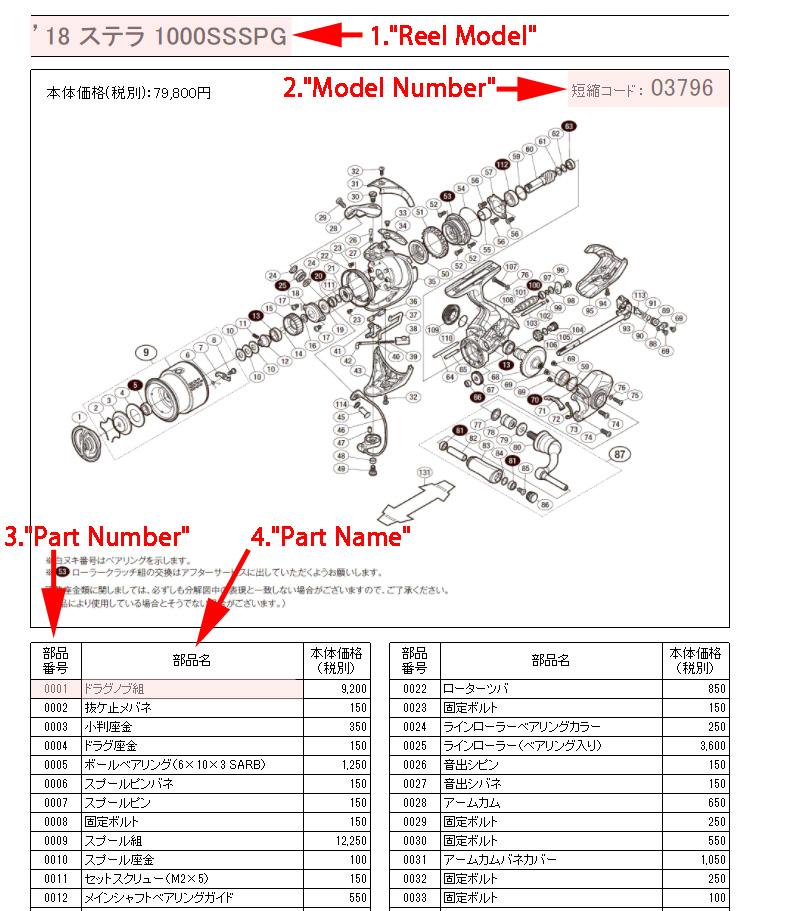 SHIMANO Schematic Diagram